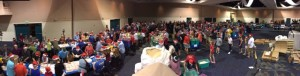 Our 3rd Annual Holidays Without Hunger Packing Event Was a Great Success!